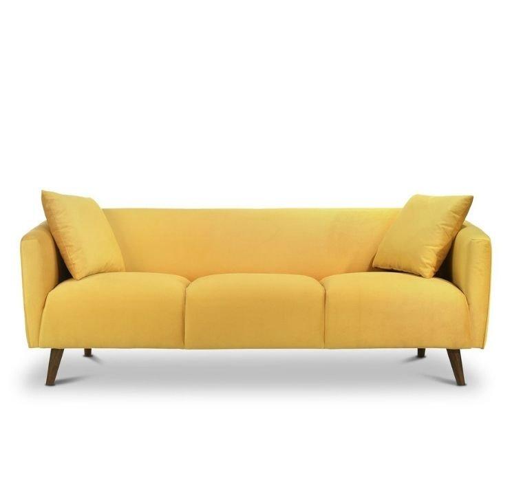 yellow apartment sice sofa