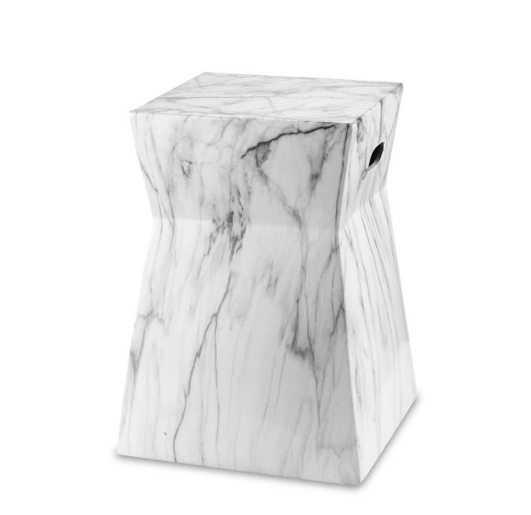 black and white marble stoom