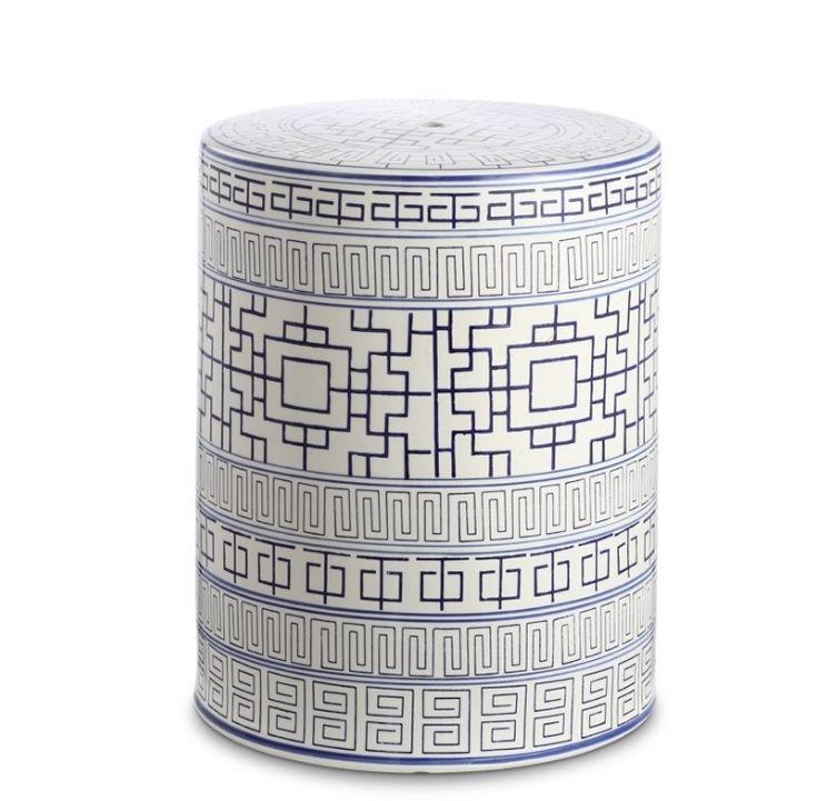 moroccan garden stool