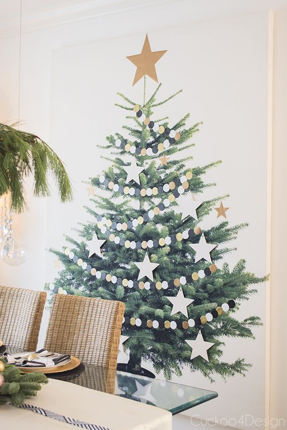 christmas tree canvas