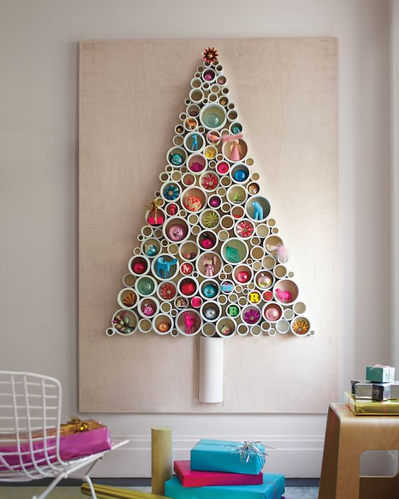 alternative pvc pipe christmas tree