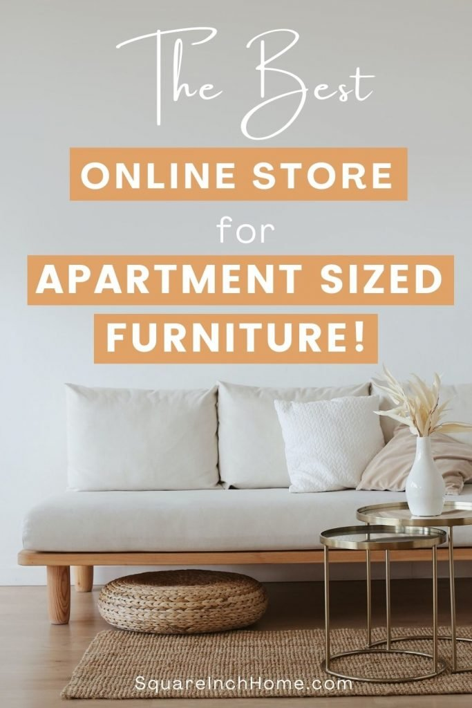 The Best Online Furniture Store For Apartment Sized Furniture