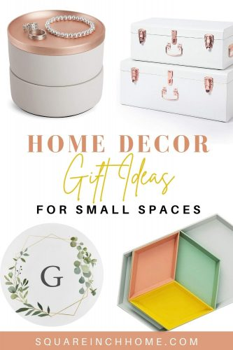 decor & storage gifts for small spaces