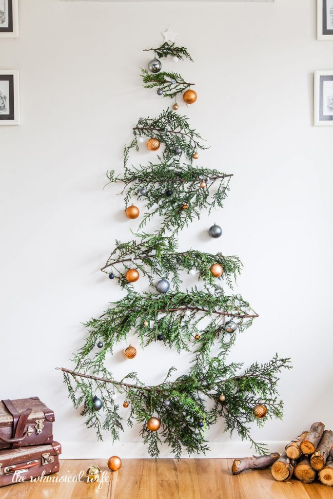 christmas tree alternatives for small spaces.
