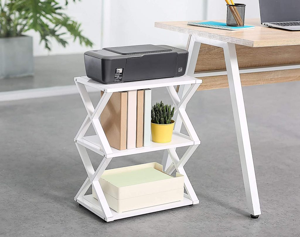 small ptinter stand for small home office