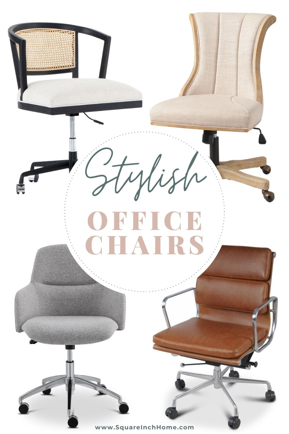 stylish home office chairs pinterest