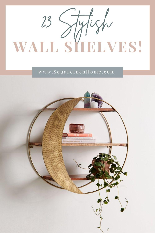 23 decorative wall shelves pinterest