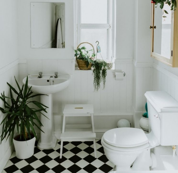 reversible ways to renovate a rental bathroom