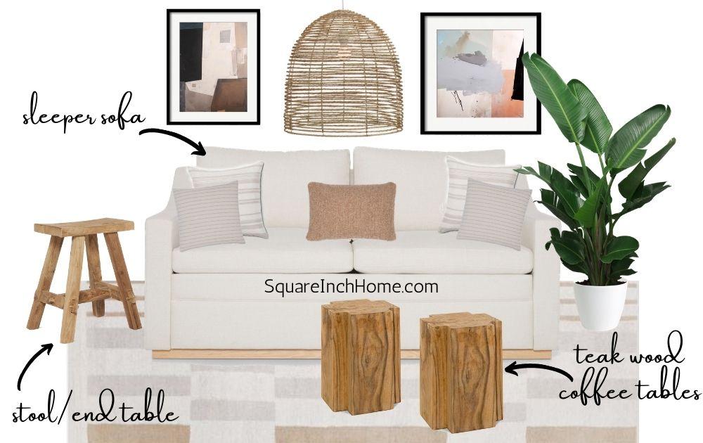 cozy california living room decor