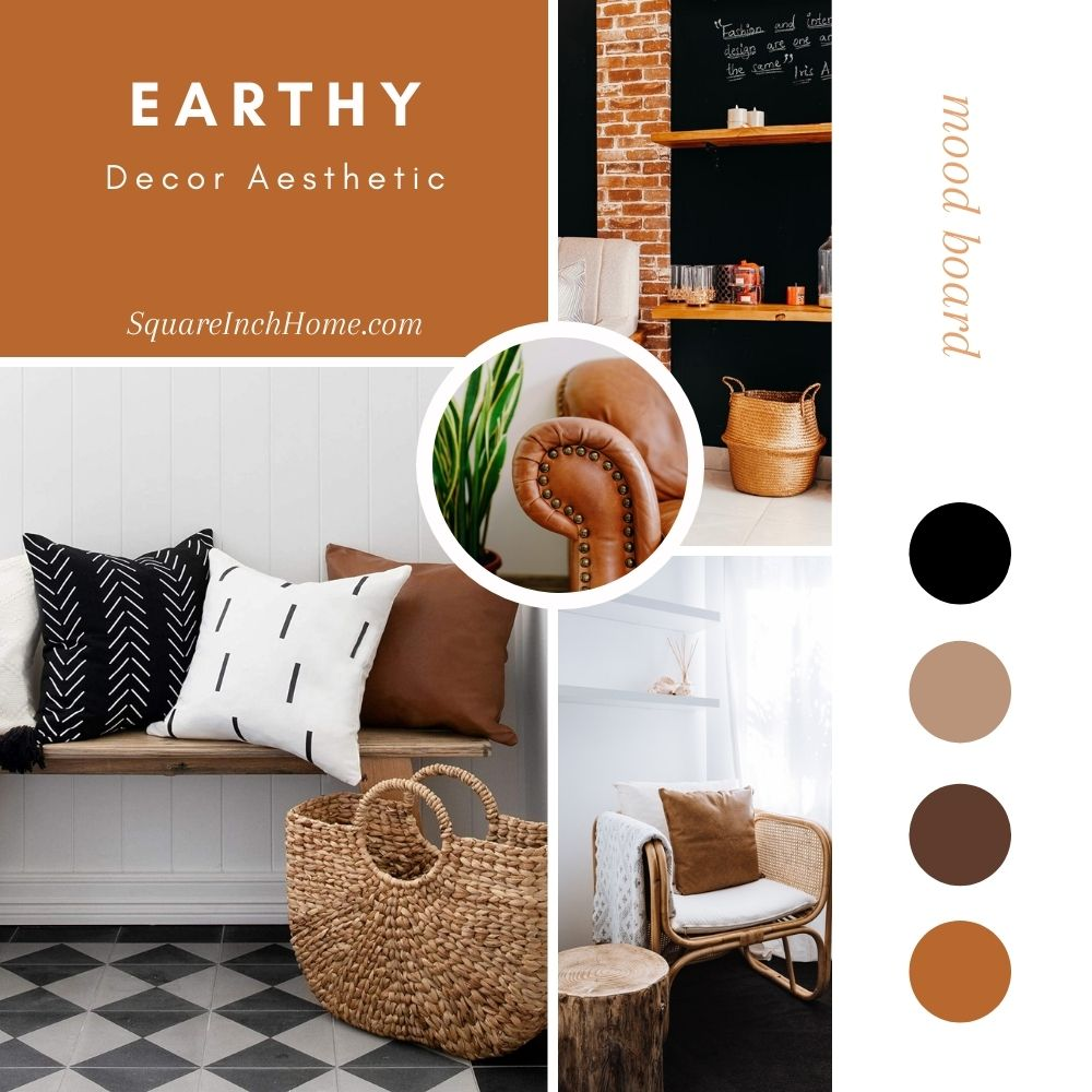 earthy decor aesthetic