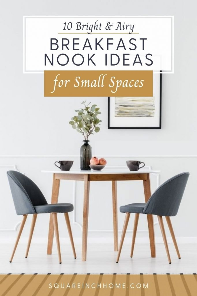 cozy breakfast nook ideas for small spaces pinterest