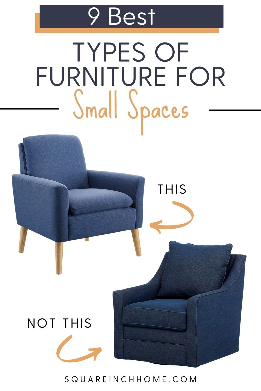 best furniture for small spaces pinterest