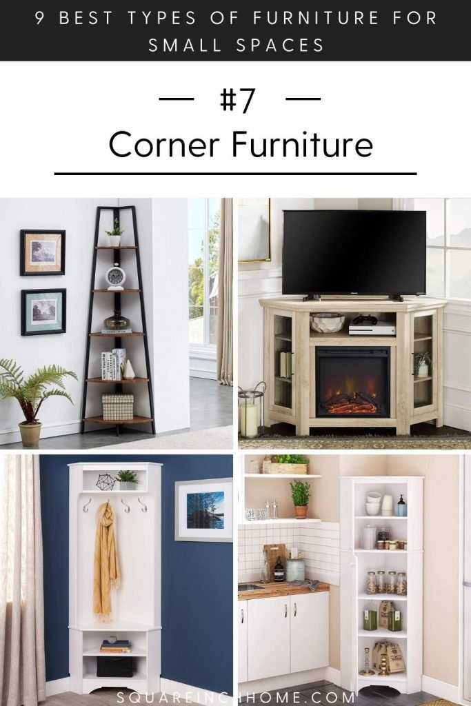 space-saving corner furniture for small spaces