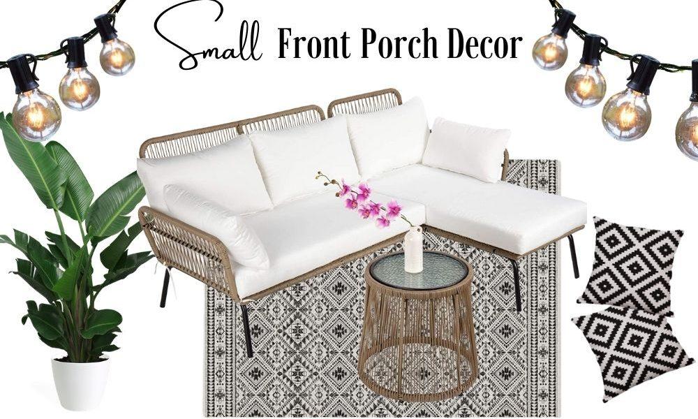 natural small Front Porch decor ideas