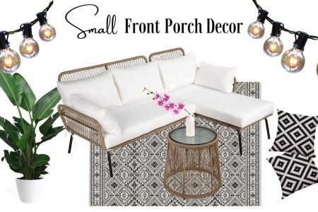 natural small Front Porch decor ideas