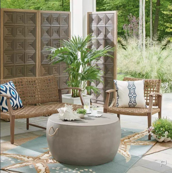 boho natural decor ideas for small outdoor spaces