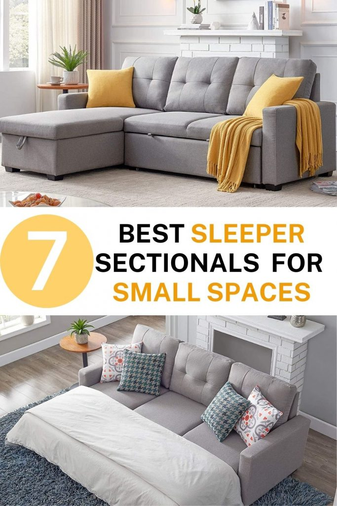 7 best sleeper sectional sofas for small spaces