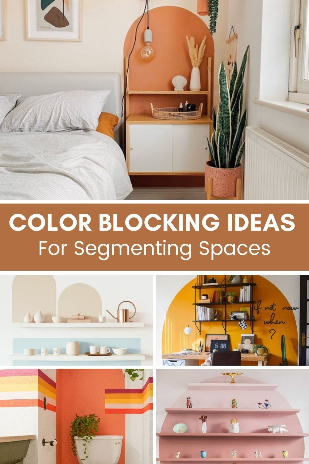color blogking ideas for small spaces