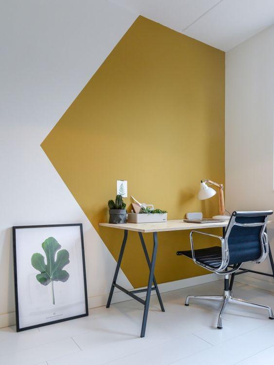geometric color blogcking idea