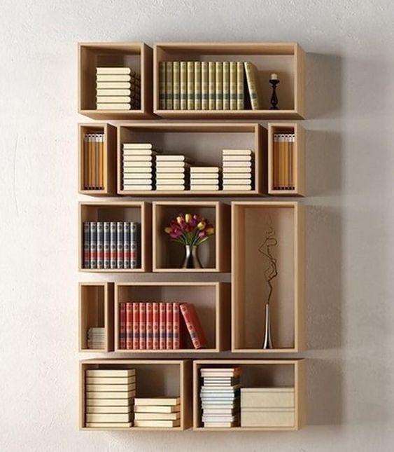 floating wall box shelves