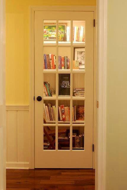 closet library hack bokk storage idea