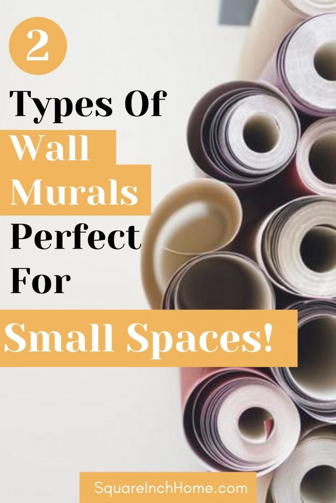 wallpaper murals for small spaces